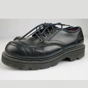 Vintage Tommy Hilfiger Black Oxford Shoes 10.5